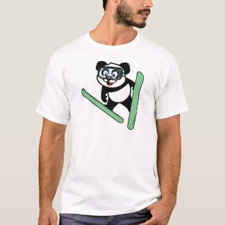 Ski-jumping Panda T-Shirt
