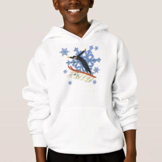 Ski jumping Ski Jumpers winter games gifts Hoodie