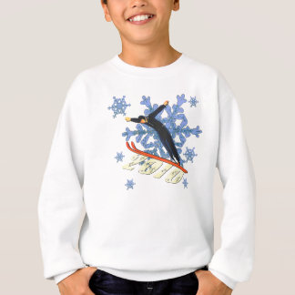 Ski jumping Ski Jumpers winter games gifts Sweatshirt