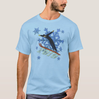 Ski jumping Ski Jumpers winter games gifts T-Shirt