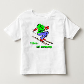 Ski Jumping Toddler T-shirt