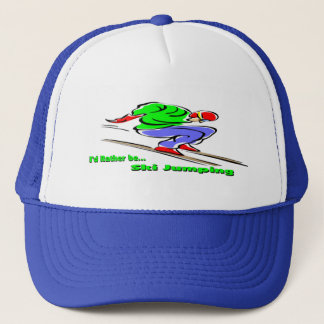 Ski Jumping Trucker Hat