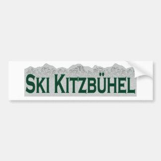 Ski Kitzbuhel Car Bumper Sticker