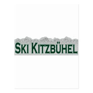 Ski Kitzbuhel Postcard