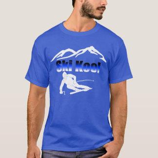 Ski Kool royal blue tee