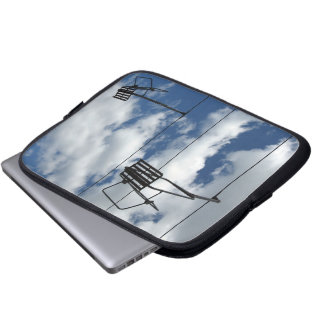 Ski Lift and Sky Laptop Sleeve