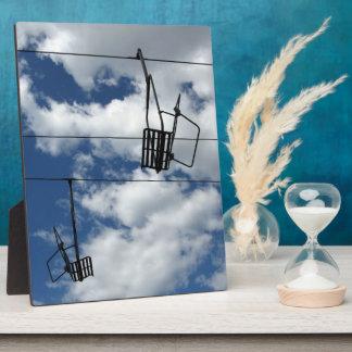 Ski Lift and Sky Plaques