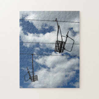 Ski Lift and Sky Jigsaw Puzzles