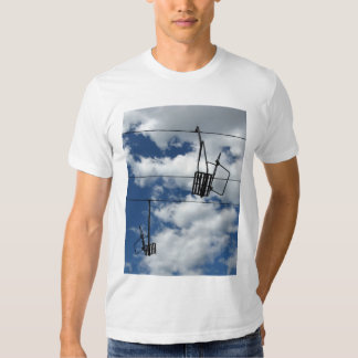 Ski Lift and Sky T Shirt
