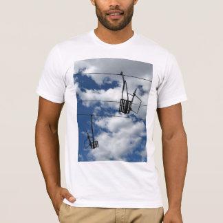 Ski Lift and Sky T-Shirt