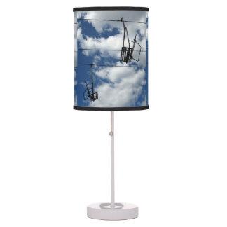 Ski Lift and Sky Table Lamps