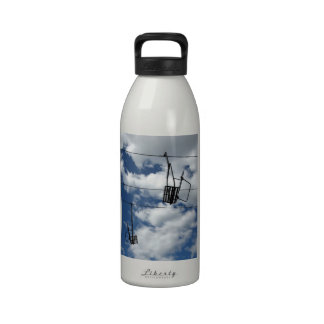 Ski Lift and Sky Water Bottles