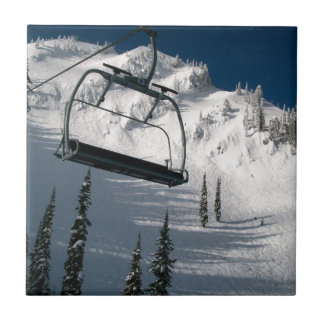 Ski Lift Ceramic Tile