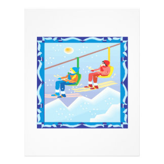 Ski Lift Custom Flyer