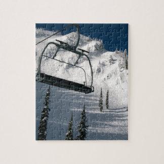Ski Lift Jigsaw Puzzle