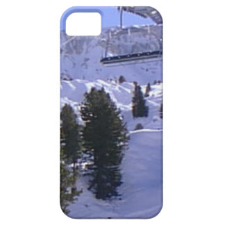 Ski lift on  the summit of  Mt Blanc range iPhone SE/5/5s Case