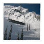Ski Lift Small Square Tile