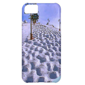 Ski lift to  Mt Blanc range iPhone 5C Case