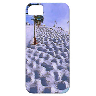 Ski lift to  Mt Blanc range iPhone SE/5/5s Case