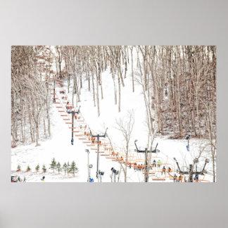 Ski Lift Wall Art