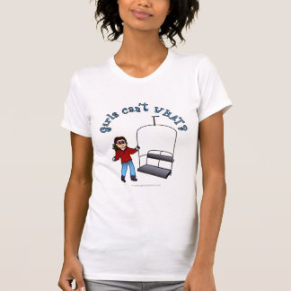 Ski Liftie Girl T Shirt