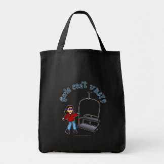 Ski Liftie Girl Tote Bag