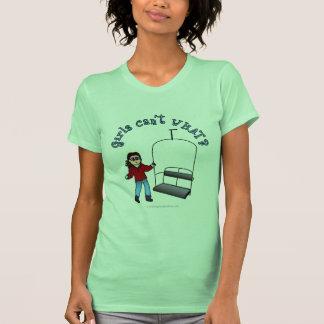Ski Liftie Girl T Shirts
