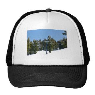 Ski lifts at snow world trucker hat