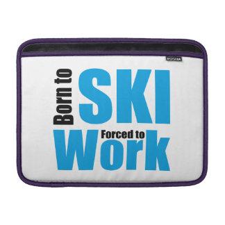 ski MacBook air sleeve