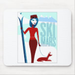 Ski Mars mousepad
