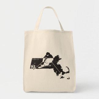 Ski Massachusetts Tote Bag