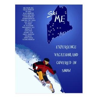 Ski ME Poster Postcard