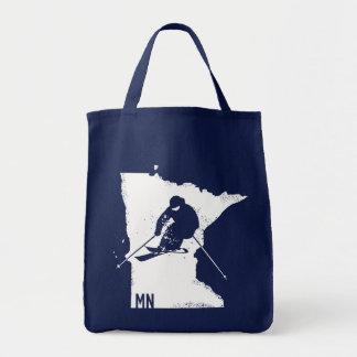 Ski Minnesota Tote Bag