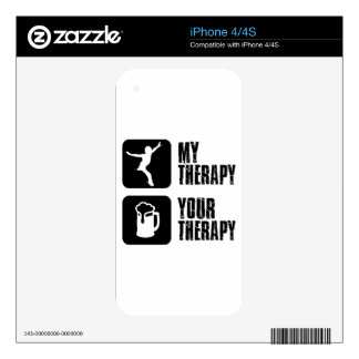 ski my therapy skin for iPhone 4
