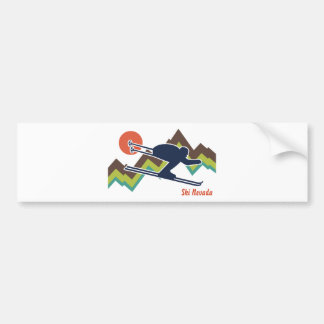 Ski Nevada Bumper Sticker