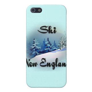 Ski New England  black iPhone SE/5/5s Cover