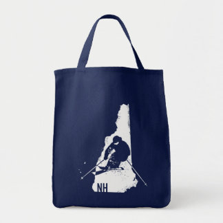Ski New Hampshire Tote Bag
