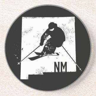 Ski New Mexico Drink Coaster