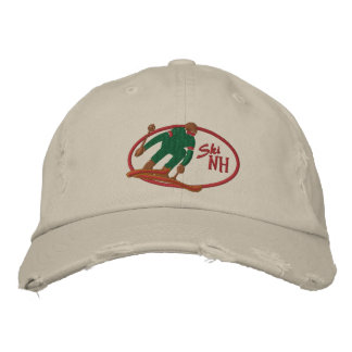 Ski NH Embroidered Hat