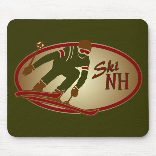 Ski NH Mouse Pad
