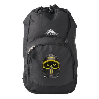 Ski Or Snowboard Helmet Sierra Backpack