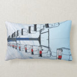 Ski Park Chairlifts Pillow