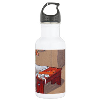 SKi Patrol- If I splint this can I ski? Stainless Steel Water Bottle