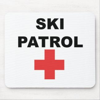 Ski Patrol Mouse Pad