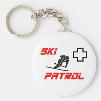 "Ski Patrol - ""Skier"" Key Chains"