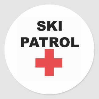 Ski Patrol Stickers