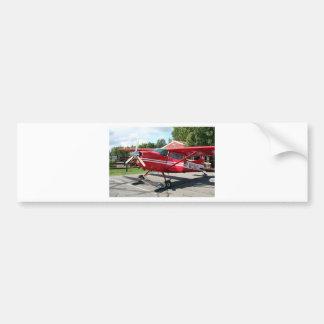 Ski plane, Talkeetna, Alaska, USA Bumper Sticker