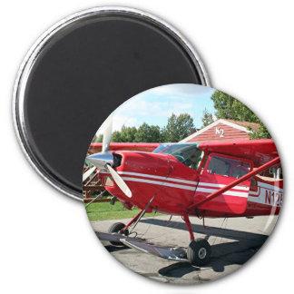Ski plane, Talkeetna, Alaska, USA Magnet