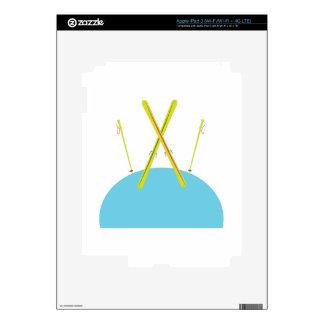 Ski Poles iPad 3 Skins