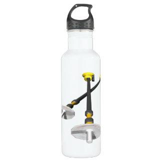 Ski Poles Stainless Steel Water Bottle